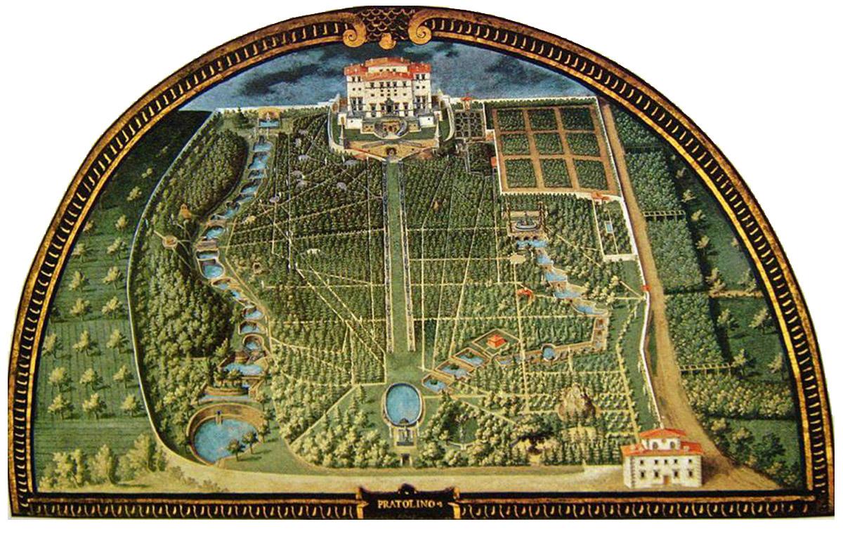 Il Parco di Pratolino l'ardito progetto del Principe Francesco I de' Medici